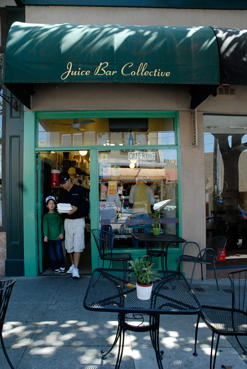 Juice Bar Collective in Berkeley. Photo by Wendy Goodfriend