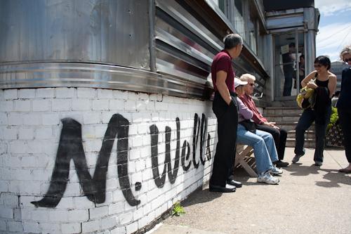 Brunch at M. Wells (Long Island City, NY)