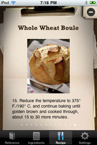 Bread Baking App for iPhone and iPad