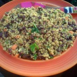 What to Bring to the Gluten-Free Vegan Potluck: Quinoa-Adzuki Bean Salad