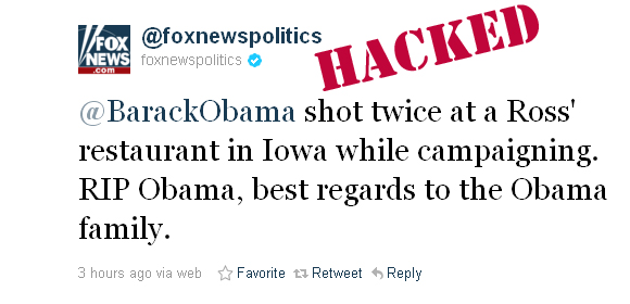 Fox News Politics Hacked
