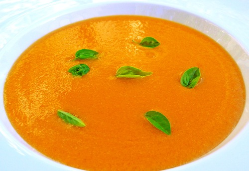 heirloom tomato soup
