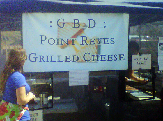 GBD Point Reyes Grilled Cheese
