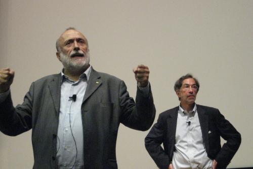 Carlo Petrini, Slow Food Founder Kicks Off UCB Food Politics Class