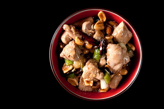 Kung Pao Pheasant. Photo courtesy of Holly A. Heyser