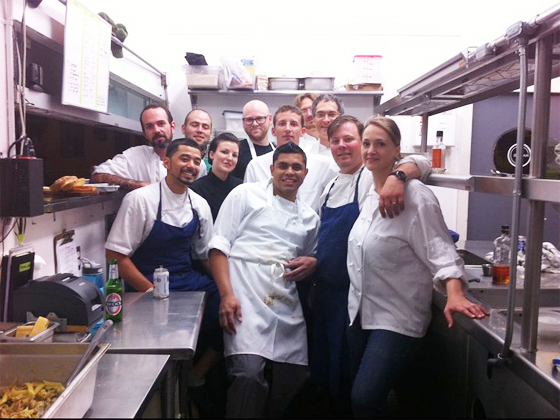 Chefs Night Off crew
