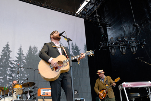 Decemberists at Outside Lands 2011. Photo by Wendy Goodfriend