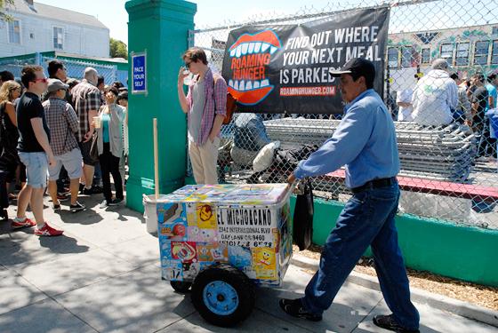 Street Food Ice Cream Vendor. Photo by Wendy Goodfriend