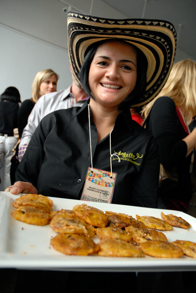 Constana Ortiz - Maite Catering. Photo by Wendy Goodfriend