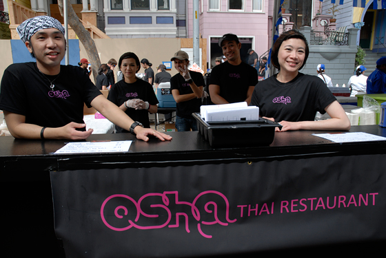 Osha Thai Restaurant. Photo by Wendy Goodfriend