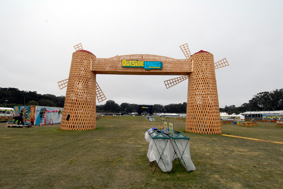 Outside Lands:  A First Timer's Take on an Eco-Friendly Gourmet Music Festival