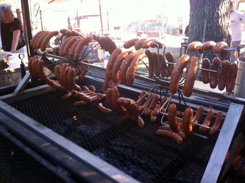 Sausages from Smoakville. Photo by Laiko Bahrs