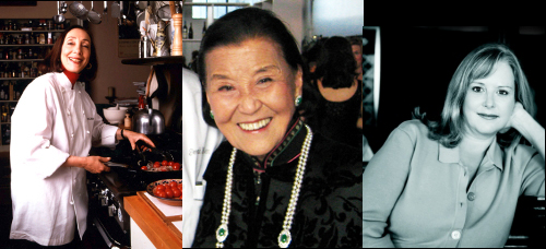 Joyce Goldstein, Celia Chang, Nancy Oakes