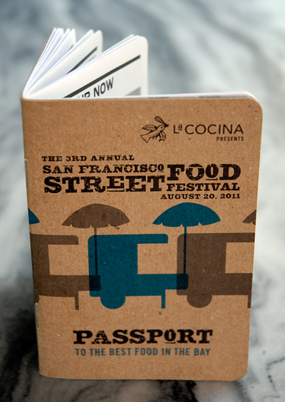 SF Street Food Festival Passport. Photo by Wendy Goodfriend