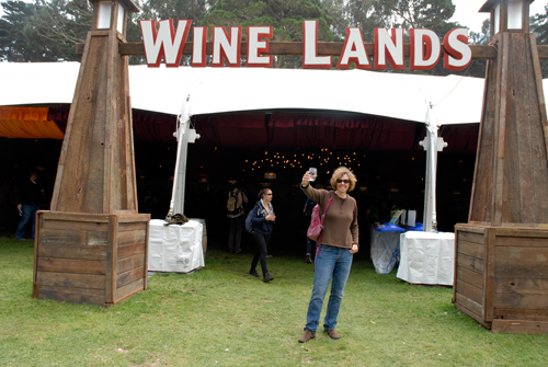 Wine Lands 2011 with Andrea Kissack. Photo by Wendy Goodfriend