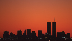 The New York City skyline on September 5, 2001. Jamie Squire-Allsport-Getty