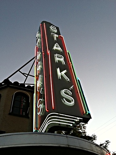 Starks Steak House. Photo by Lisa Adams Walter