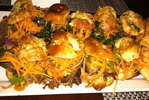 Banh Mi Vietnamese steak sandwiches. Photo by Lisa Adams Walter