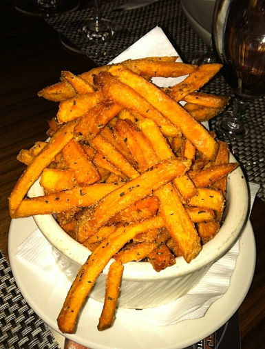 Rosemary yam fries. Photo by Lisa Adams Walter