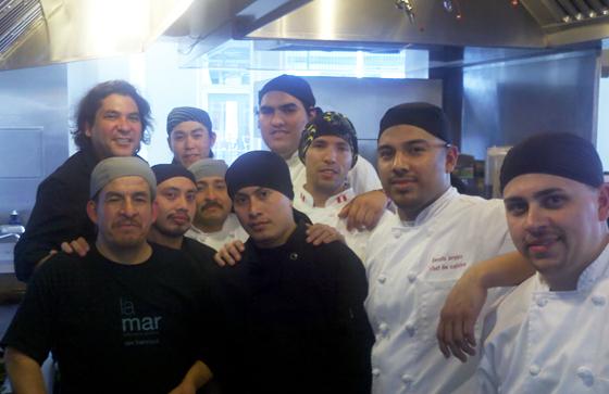 Interview with La Mar's Chef de Cuisine Dennis Arvizu