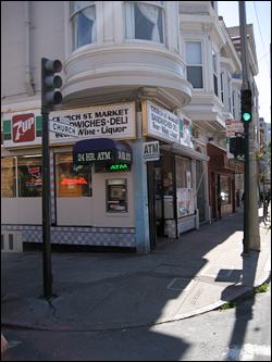 Yousef Elhaj's corner store. Photo: Katherine Bruens, 2009