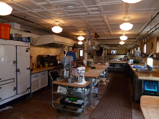 Headlands Center of the Arts kitchen