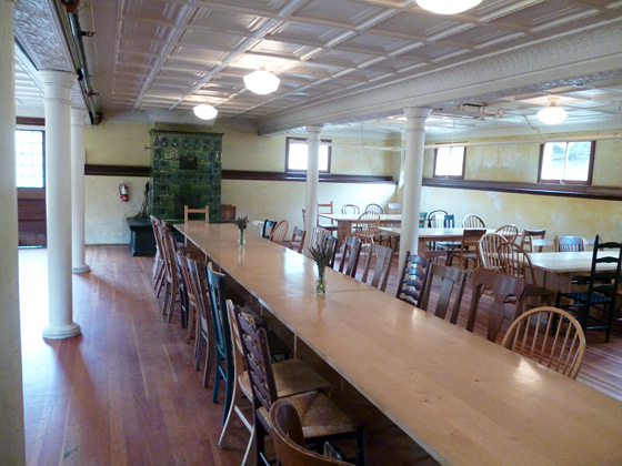 Headlands Center for the Arts Mess Hall Dining Room