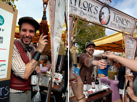 Tailors Tonics. Photos: Wendy Goodfriend
