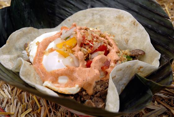 WOW Silog Taco. Photo: Wendy Goodfriend