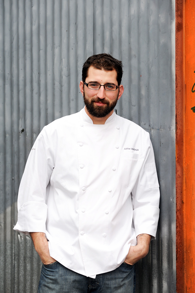 Boxing Room Executive Chef Justin Simoneaux