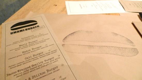 umami burger menu