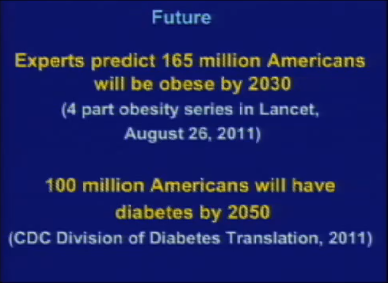 slide from class presentation Nutrition, Health, and Diet Related Disease