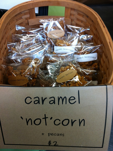 Caramel not corn