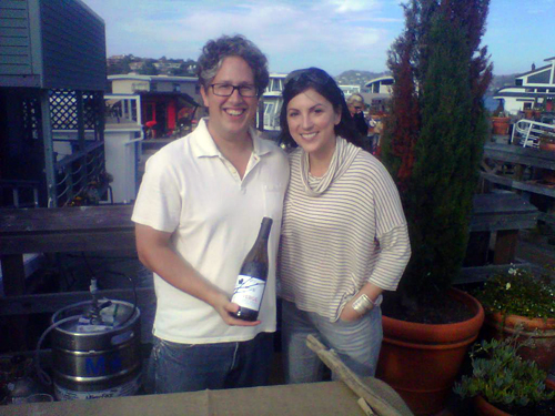 Jay and Emily Kell of Verge Wine Cellars