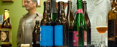 Jug Shop beer tastings.