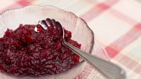 Orange and Ginger Spiced Cranberry Sauce