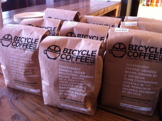 bicycle coffee bags