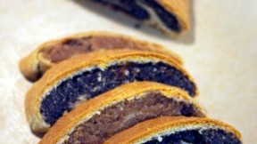 Hungarian Poppy Seed and Walnut Beigli (Veganized)