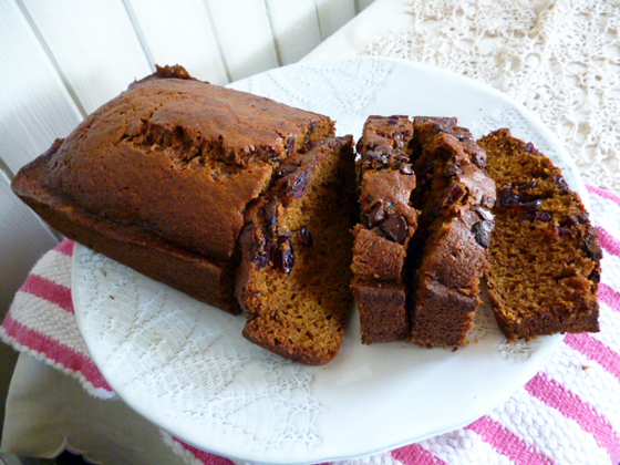 Christmas Morning Pumpkin Bread