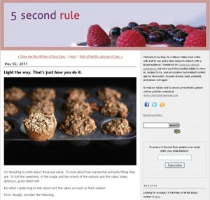 5 second rule food blog
