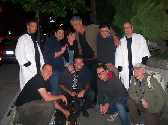Bourdain, Oscar, crew