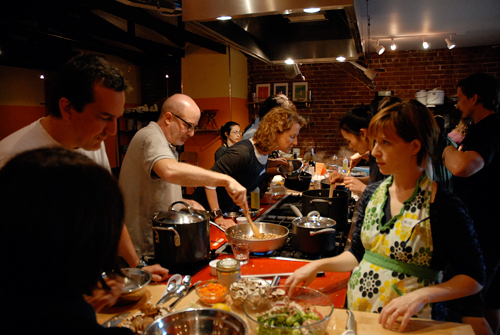 Kitchen on Fire plans to offer longer classes at their new satellite site.