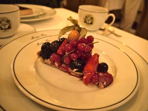 Mariage Freres fruit tart