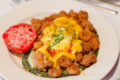 Shrimp Sardou (Brennan's, New Orleans)