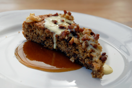 Date Walnut Cake. Photo: Wendy Goodfriend