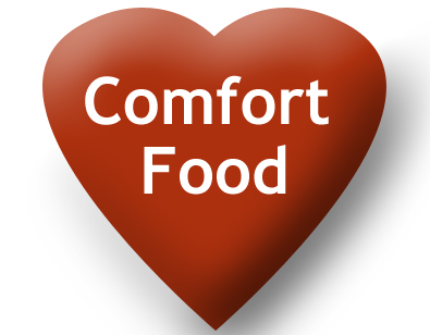Comfort Food Heart for Valentines Day