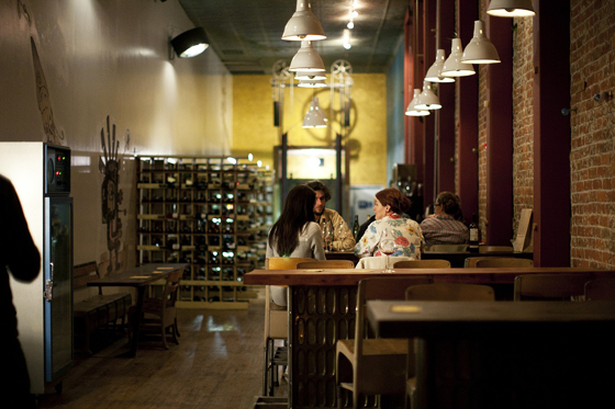 Bergamot Alley interior. Photo: Kena Frank
