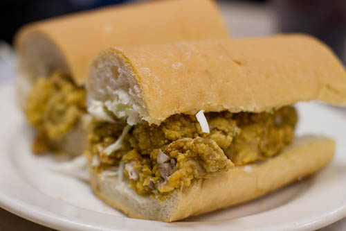 Oyster Po' Boy (Mother's, New Orleans)