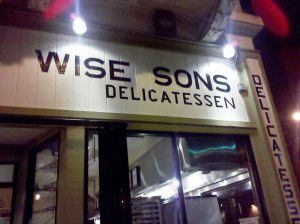 Wise Sons Jewish Deli
