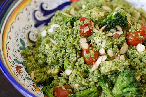 Kale Pesto Quinoa